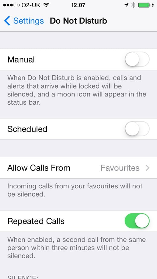 send calls to voicemail iphone