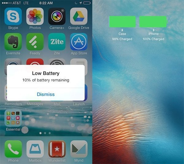 reset battery on iphone