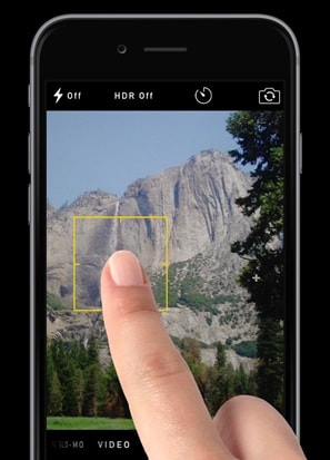 iphone 6s camera not working