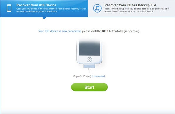 iphone call history recovery software Apowersoft