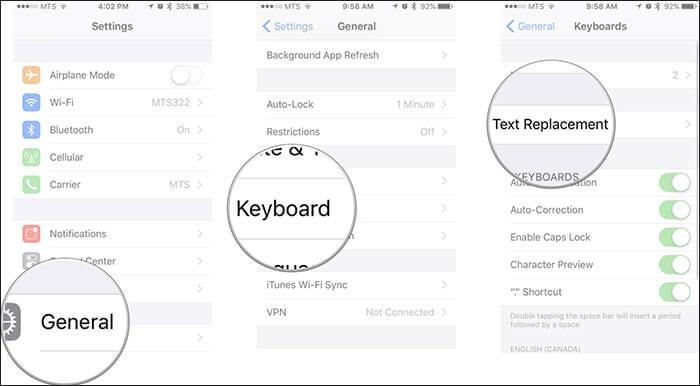 iphone 6 keyboard problem