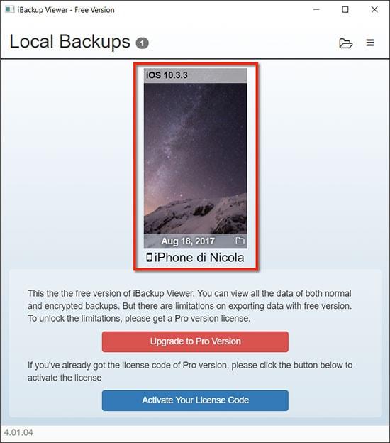 local backups