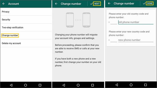 how can i recover my whatsapp account without phone number