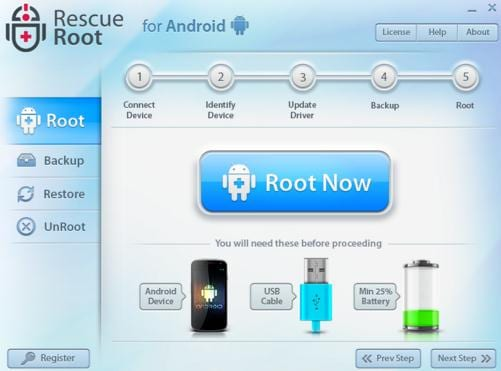 root android pro