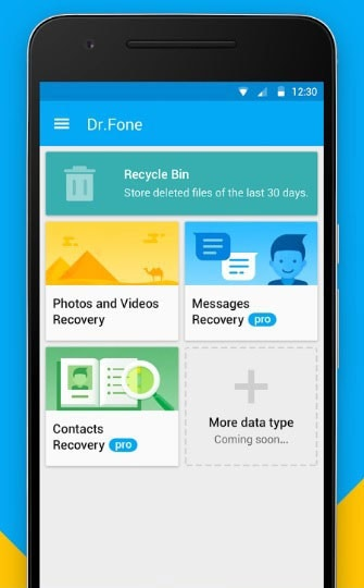 recover deleted text messages without PC