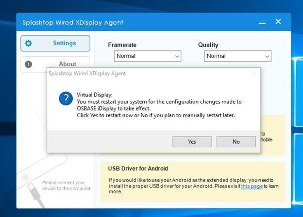 Splashtop Wired XDisplay Free