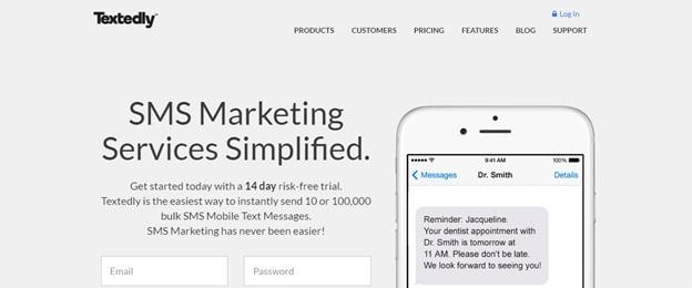 mass text message app