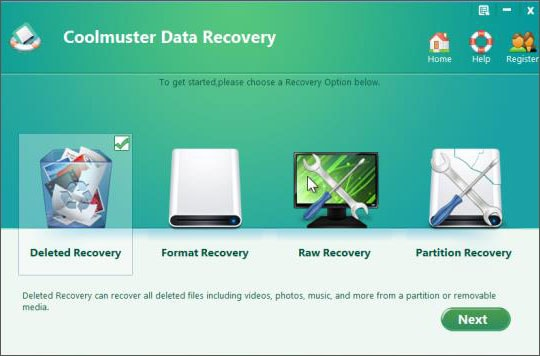 Samsung data recovery software
