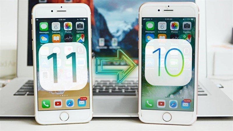 reverse iPhone update