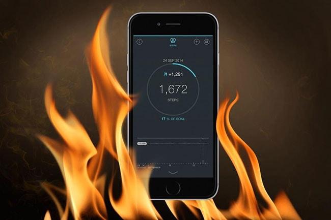 iphone 6s overheating