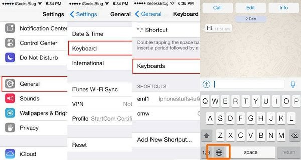 how to put emoticons on whatsapp
