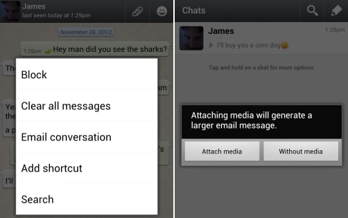 download whatsapp messages
