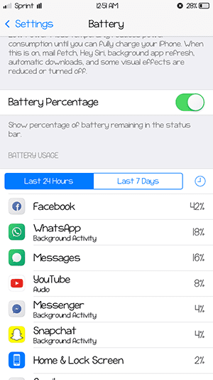 solutions to battery run out quickly after ios 10 update