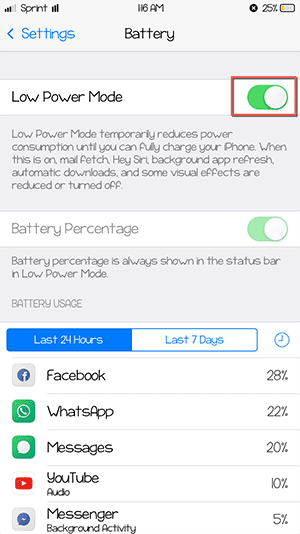 how to fix battery run out quickly after ios 10 upgrade