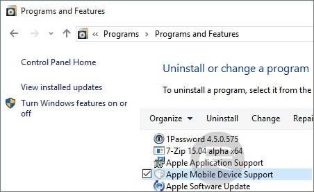 itunes not recognizing iphone windows 10