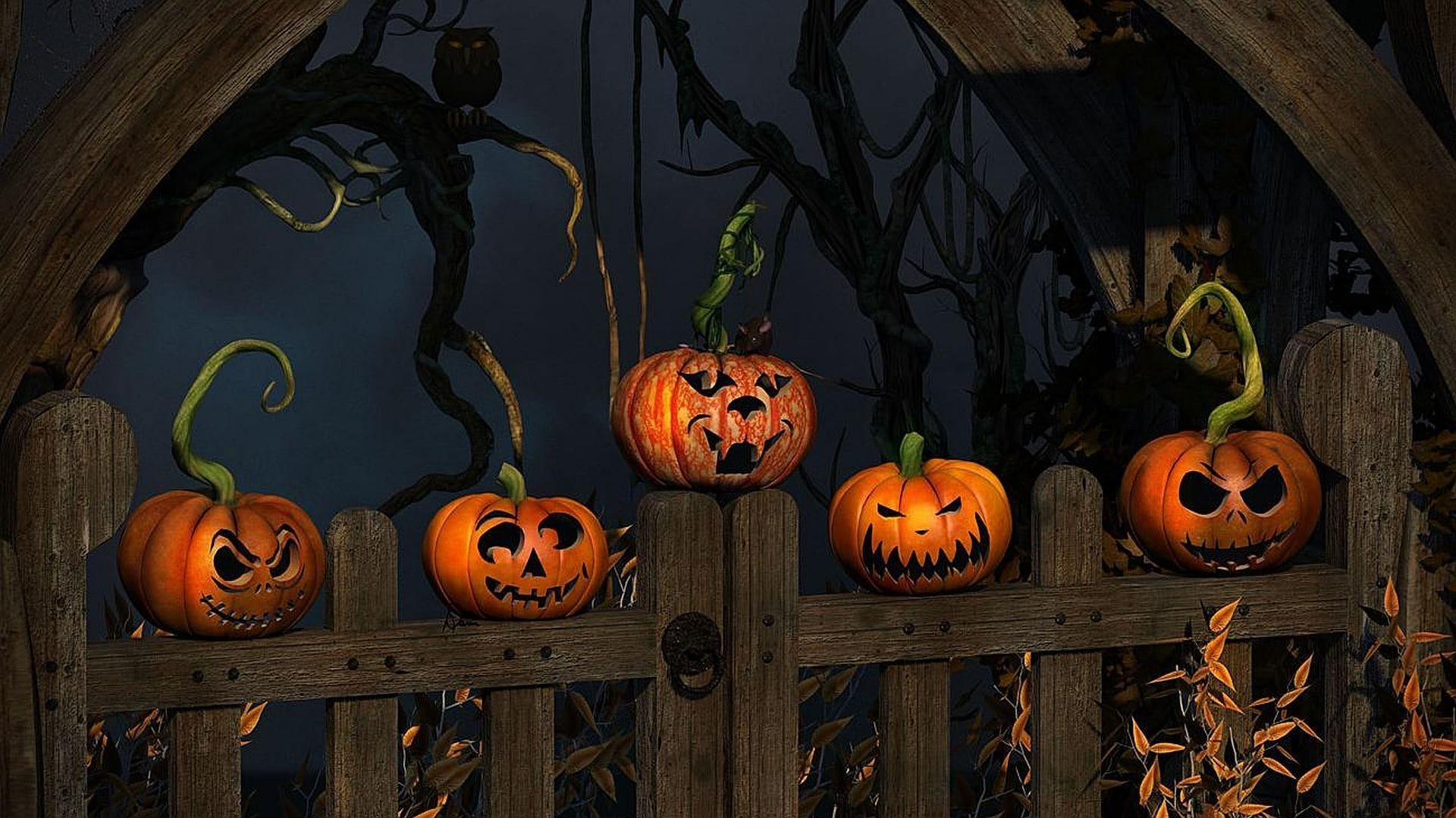 Horror Animated Wallpaper Free Download For Pc: Download Free Halloween Wallpaper For Mac OS X El Capitan