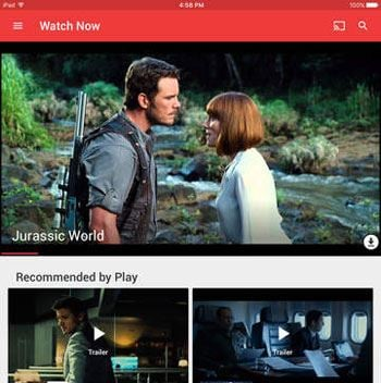 free movie apps for ipad