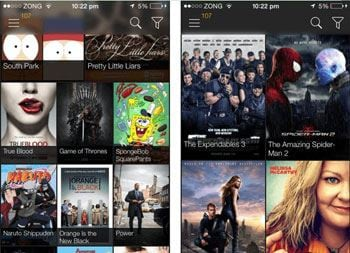 stream free movies on ipad