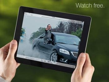 free movie streaming for ipad
