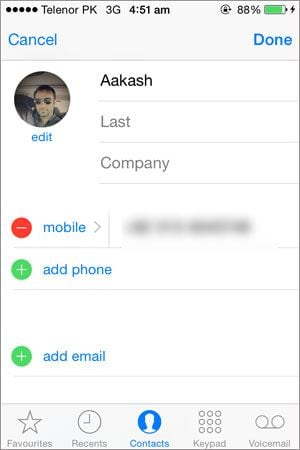 how to add lots of contacts to iphone