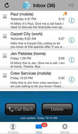 best voicemail app for iphone