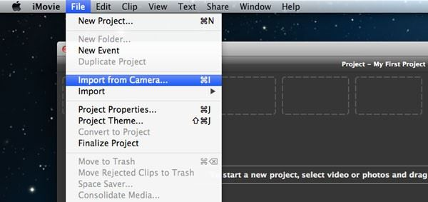 transfer video from iphone to mac