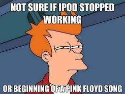 ipod wont play music