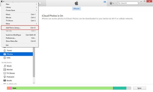 sync  iPhone SE