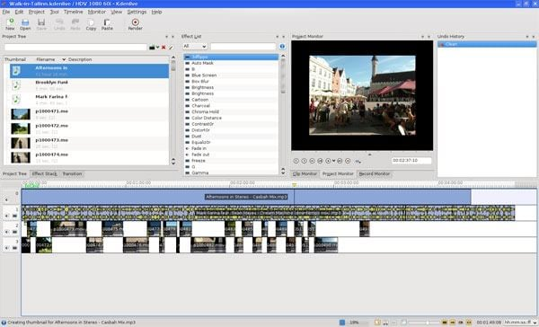 open source video editing bearbeitung