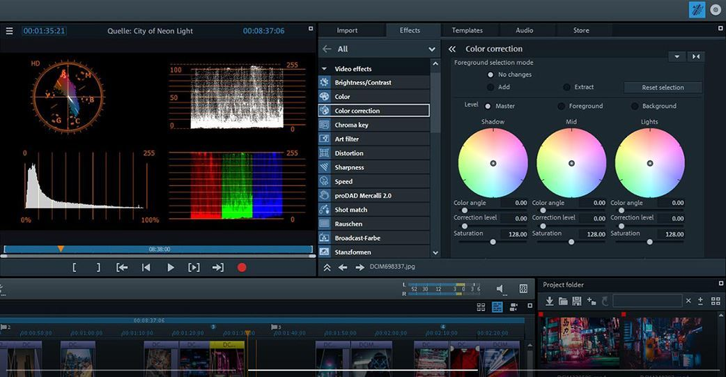 Magix Movie Edit Pro edit canon videos