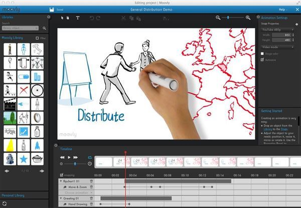 how to create an animated youtube video