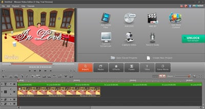 Movavi Video Editor edit canon camcorder videos