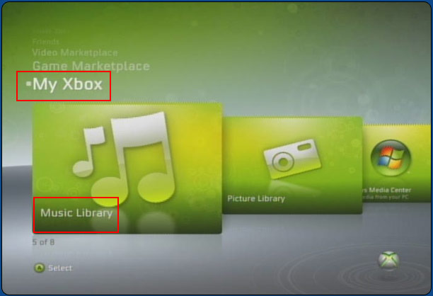 iphone music on xbox 360