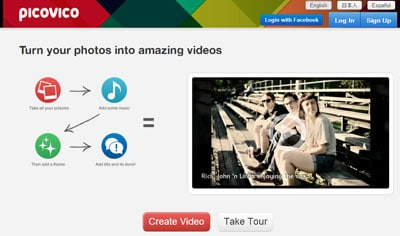 online video maker from photos