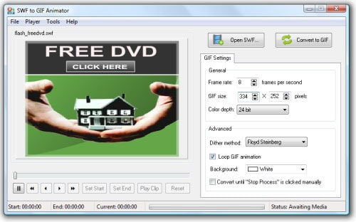 Top 10 Software to Convert SWF to GIF Images