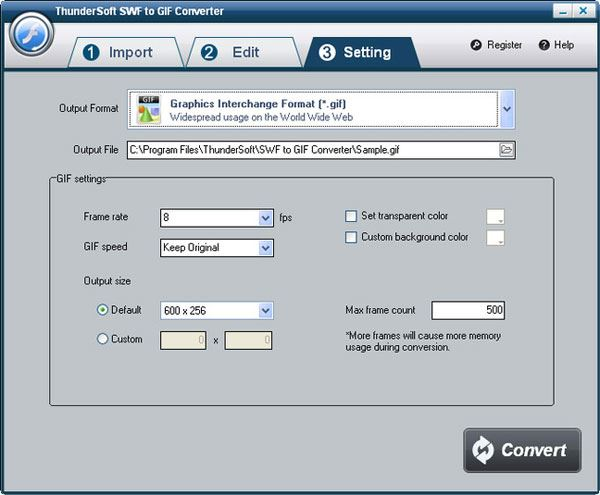 Top 10 des logiciels pour convertir des images SWF en GIF
