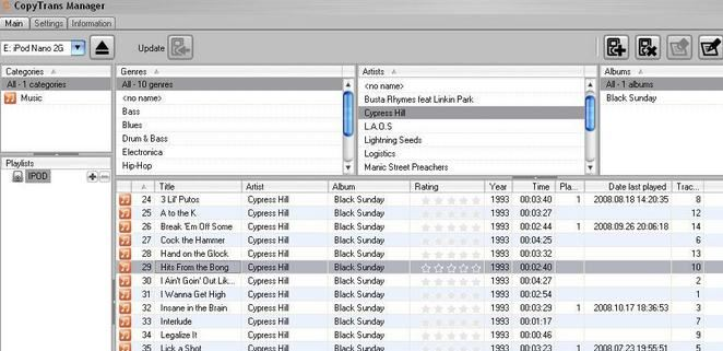 how to put music on ipod without itunes windows 10