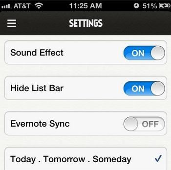 iPhone won't sync with Evernote