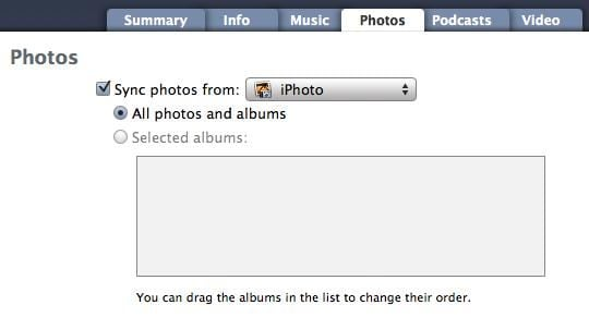 iPhone won't sync with iPhoto