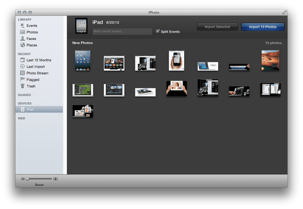 how do i transfer photos from iphone to itunes