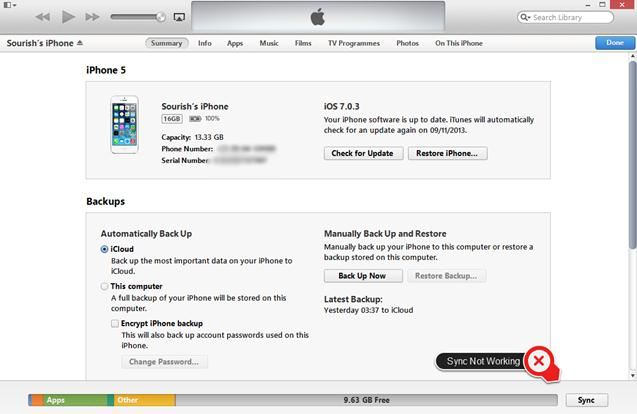 iphone not syncing itunes not syncing with ios 8 iphone 6 ipod and 9875