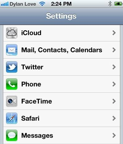 sync address book with iphone