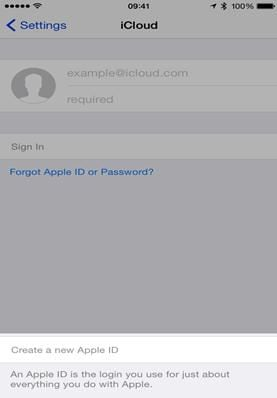 sync iphone to icloud