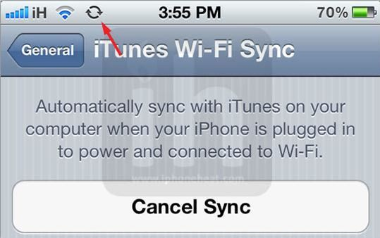 sync iphone wirelessly