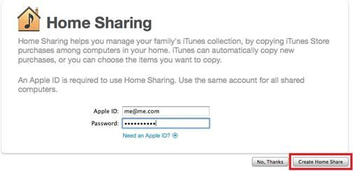 How To Transfer Itunes Music To New Computer Home Sharing