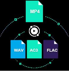 convert mp4 to ac3