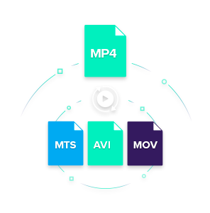 convert mp4 to mts