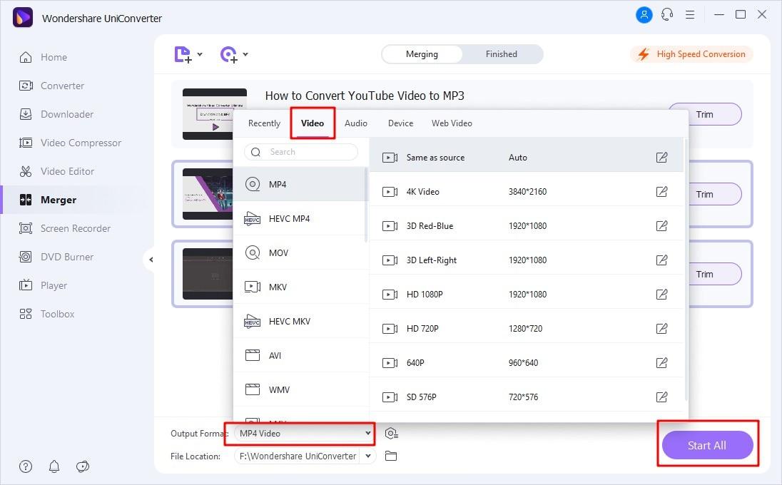 combine video file 2