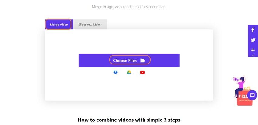 online uniconverter combine video 1