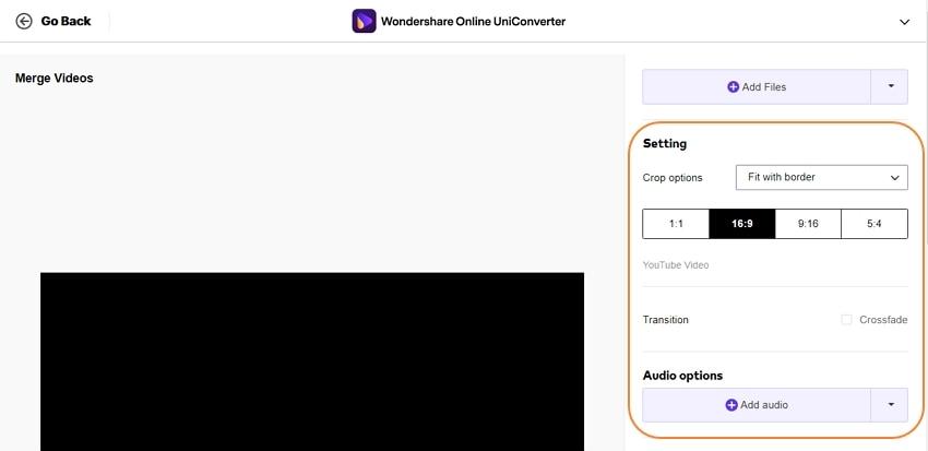 online uniconverter combine mp4 2